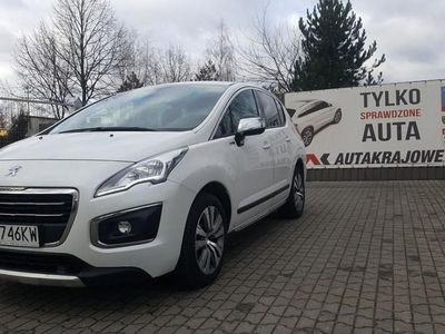 używany Peugeot 3008 2.0HDI 150KM navi, alu, 1 wł, salon PL, FV 23%, gwarancja, Łódź
