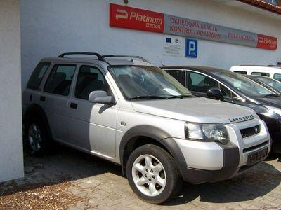 używany Land Rover Freelander 1.7 2005r. automatyczna klima.