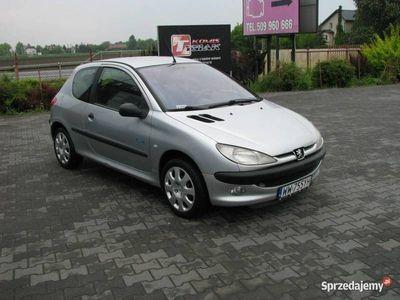 używany Peugeot 206 1.1dm 60KM 2002r. 165 000km