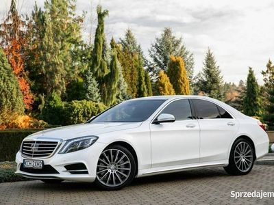 używany Mercedes S350 3dm 258KM 2013r. 97 000km