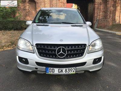 używany Mercedes 260 klasa ML 3.0dm3 190KM 2006r.000km ML 3,0 CDI SKÓRA, NAVI OPŁACONY !!!
