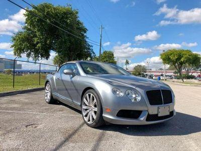 używany Bentley Continental Continental II [GT]GTC V8 4.0 benz. 500KM autom. AWD cabrio 2012