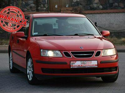 używany Saab 9-3 2.0T 175KM Manual 2003r. Climatronic TEMPOMAT el. fotele Alufelgi II (2003-2011)
