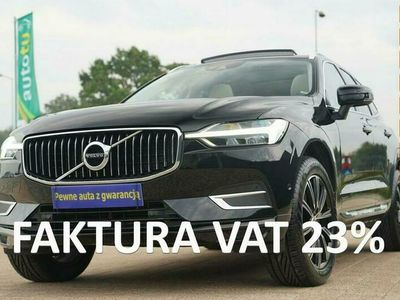 używany Volvo XC60 INSCRIPTION nawi PANORAMA ful led SKÓRA grzane fotele ALUSY 19 zamiana II (2017-)