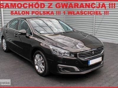 używany Peugeot 508 I Salon PL + 1 Właściciel + 100% Serwis + ALLURE S&S !!!