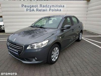 używany Peugeot 301 1.6dm3 115KM 2015r. 55 000km VTi Active ABS ręczna klima.