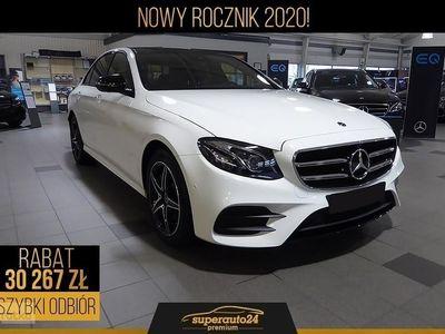 używany Mercedes 220 Klasa E W213 2.04MATIC (194KM) | AMG + Advantage + Panorama + Kamera 360