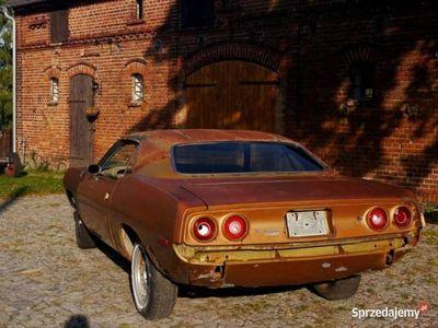 używany Plymouth Barracuda 1972 v8 318 Projekt