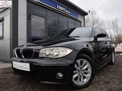 używany BMW 118 2dm3 123KM 2006r. 296 100km 2006 rok_2.0 Diesel_123 KM_Tempomat_Przyciemniane szyby_Alufelgi_