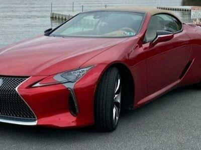 używany Lexus LC 500 innyRED 2021 8 CYLINDER BENZ. 477KM 801KM VI (2012-)