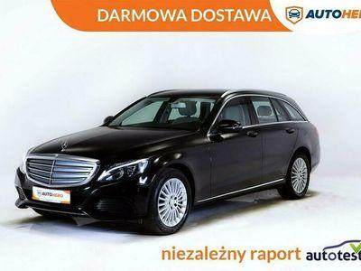 używany Mercedes C250 DARMOWA DOSTAWA, 210KM, Automat, Półskóra, Navi, Kam. cofania W205 (2014-)