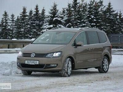 używany VW Sharan II 2.0 TDI 184KM nawigacja wersja lusksusowa gwarancja przebiegu FV23%