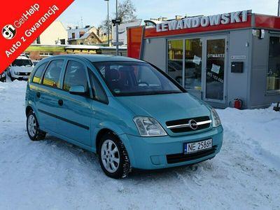 używany Opel Meriva 1.6dm 101KM 2003r. 187 355km