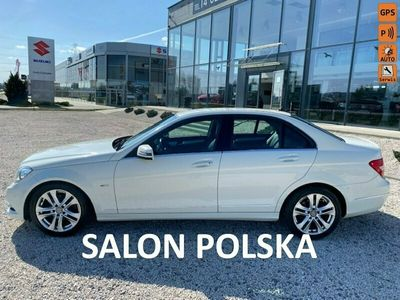 używany Mercedes C180 salon polska zadbany faktura vat marża W204 (2007-2014)