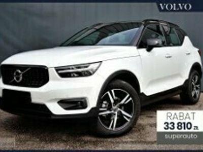 używany Volvo XC40 B4 B R-Design (197 + 14KM) | Navi Tech & Park Assist + Driver Assi