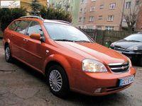 używany Chevrolet Nubira 1.6 2005r. ABS ręczna klima.
