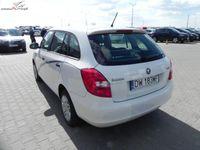 używany Skoda Fabia 1.6dm3 75KM 2013r. 125 081km ABS