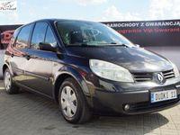 używany Renault Scénic II 1,6b DUDKI 11 klima,elektr,temp,radio,opłacony,kredyt,GWARANCJA