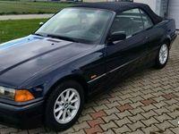 używany BMW 318 Cabriolet 318 SKÓRA BARDZO ŁADNA MAŁY PRZEBIEG I-właściciel OPŁACONY E36 (1990-1999)