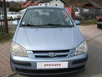 używany Hyundai Getz 1.5dm 82KM 2005r. 205 500km