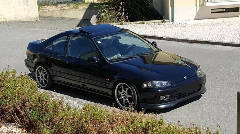 Sold Honda Civic Coupe Turbo - 94 - Carros usados para venda