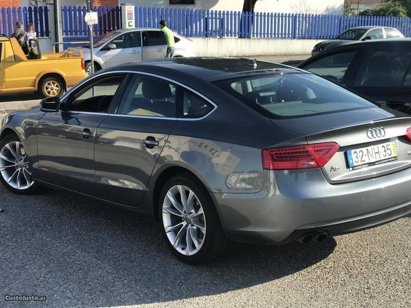 Audi a5 sportback usados venda 12