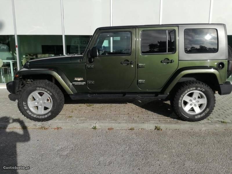 Usado Jeep Wrangler Sahara Unlimited   09