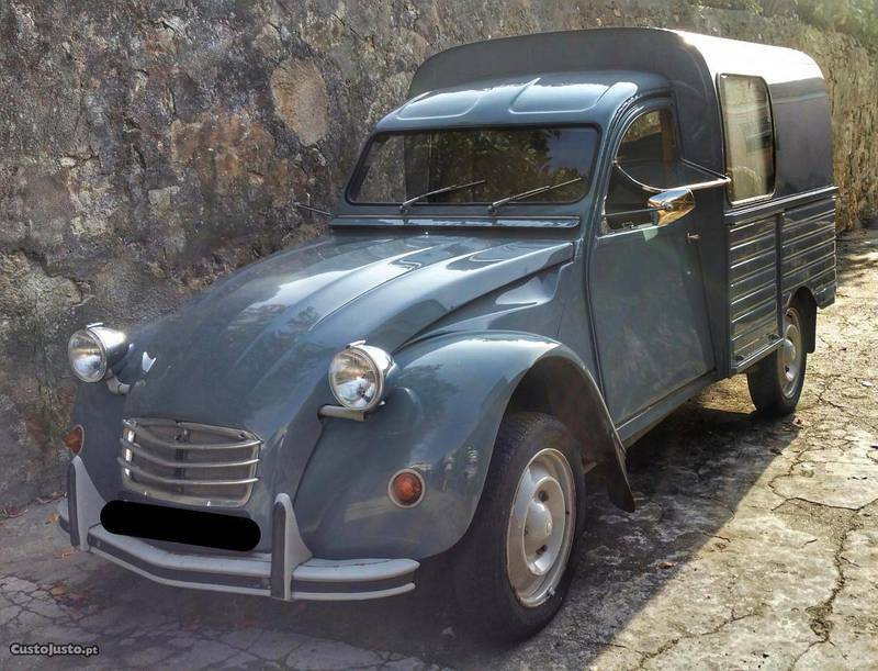 Sold Citro U00ebn 2cv Ak400 Carrinha