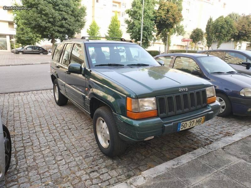 1/4 Usado Jeep Grand Cherokee 2.5 Diesel
