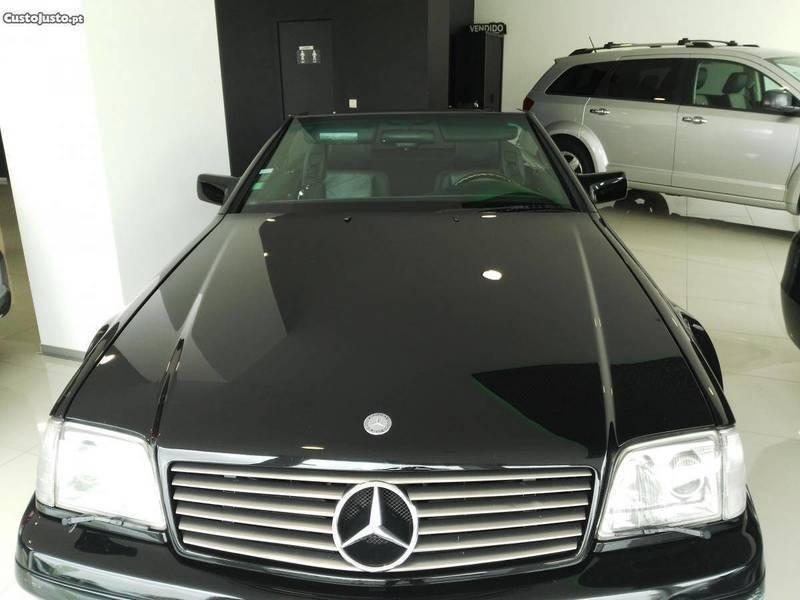 sold mercedes sl320 cabrio coupe carros usados para venda. Black Bedroom Furniture Sets. Home Design Ideas