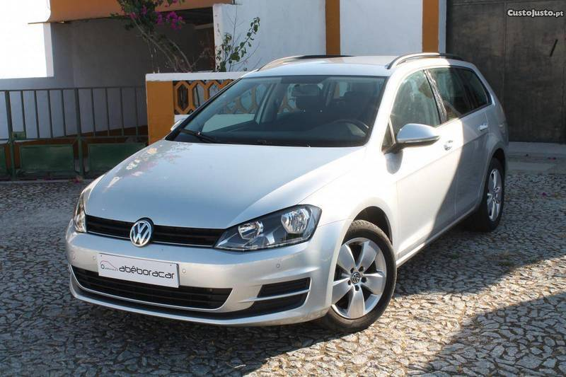 sold vw golf vii variant diesel v carros usados para venda. Black Bedroom Furniture Sets. Home Design Ideas