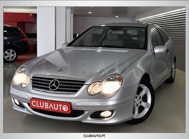 sold mercedes c220 cdi sport coup carros usados para venda. Black Bedroom Furniture Sets. Home Design Ideas