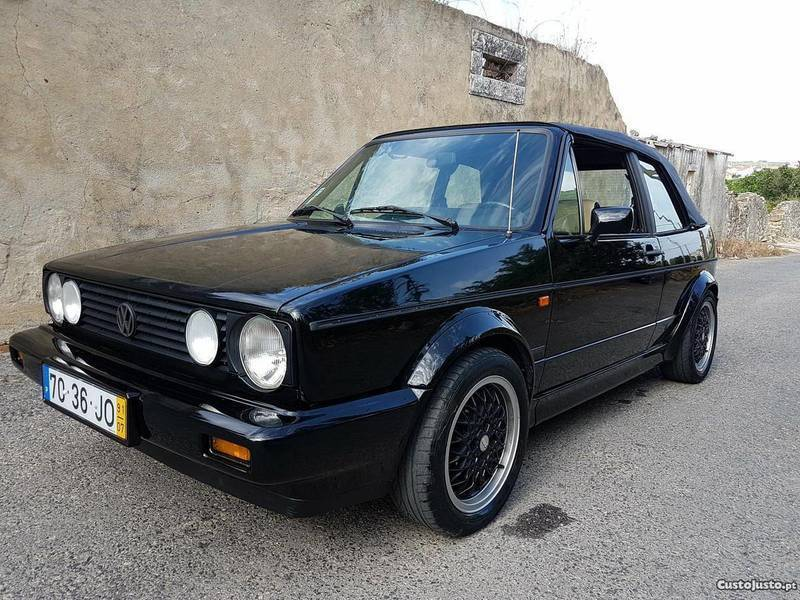 sold vw golf cabriolet 1 8 gti kar carros usados para venda. Black Bedroom Furniture Sets. Home Design Ideas