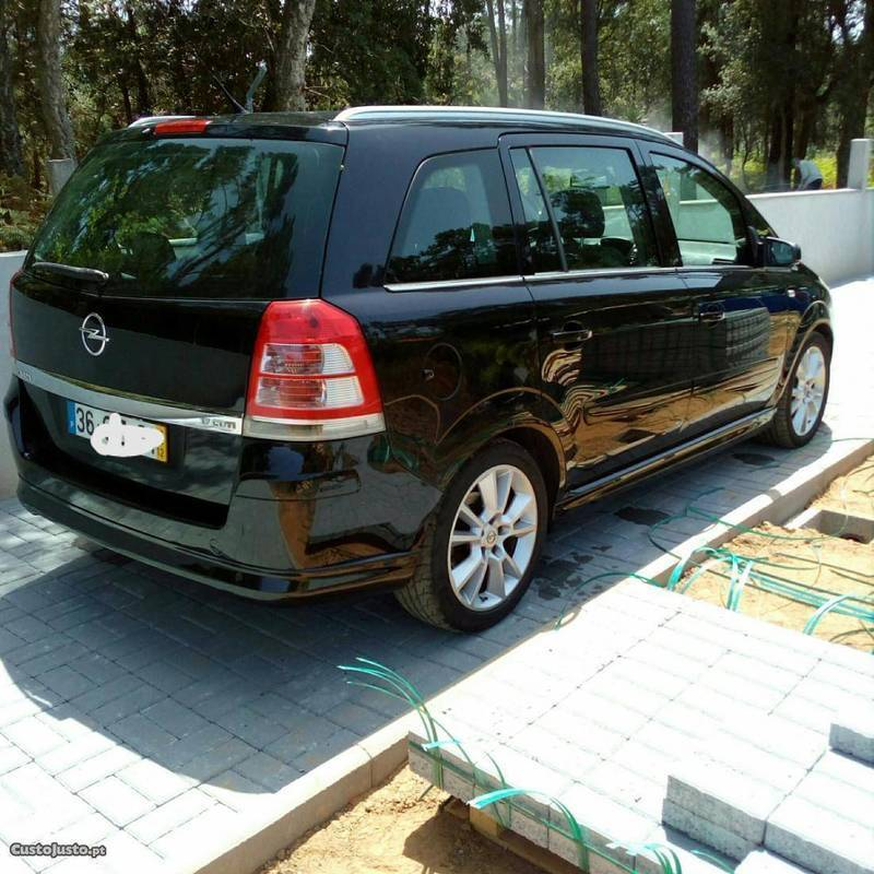 sold opel zafira 1 7 cdti 125 cv carros usados para venda. Black Bedroom Furniture Sets. Home Design Ideas