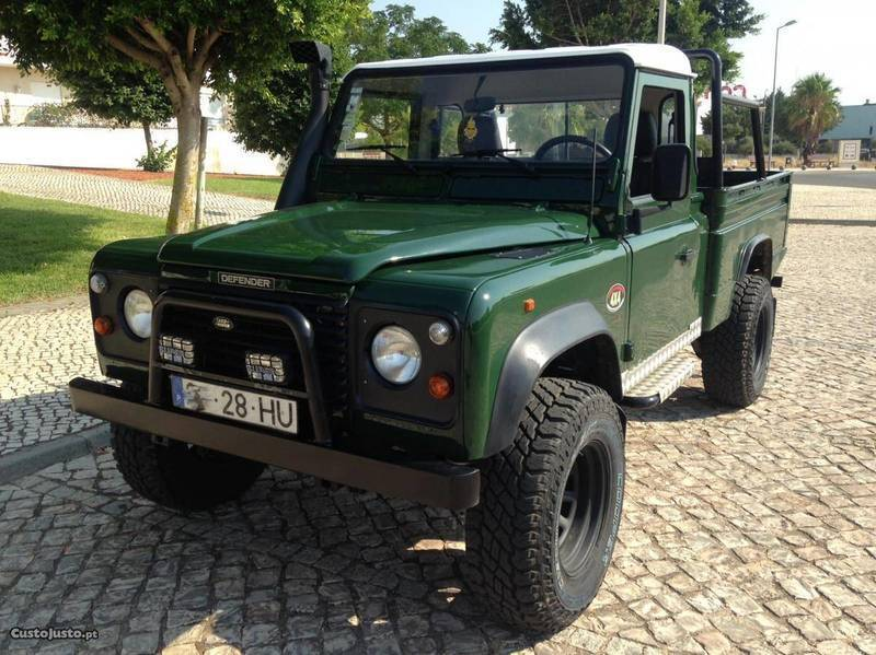 sold land rover defender 110 pick carros usados para venda. Black Bedroom Furniture Sets. Home Design Ideas