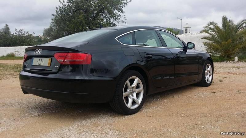 Audi a5 sportback usados venda