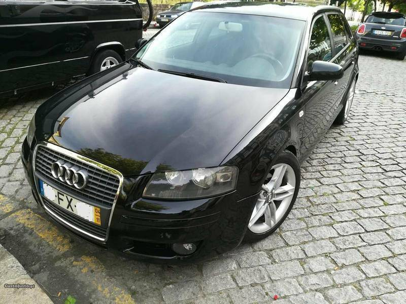 sold audi a3 sportback 1 9 tdi 105 carros usados para venda. Black Bedroom Furniture Sets. Home Design Ideas