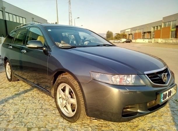 Sold honda accord 2 2 i cdti 140cv carros usados para venda for Carro honda accord