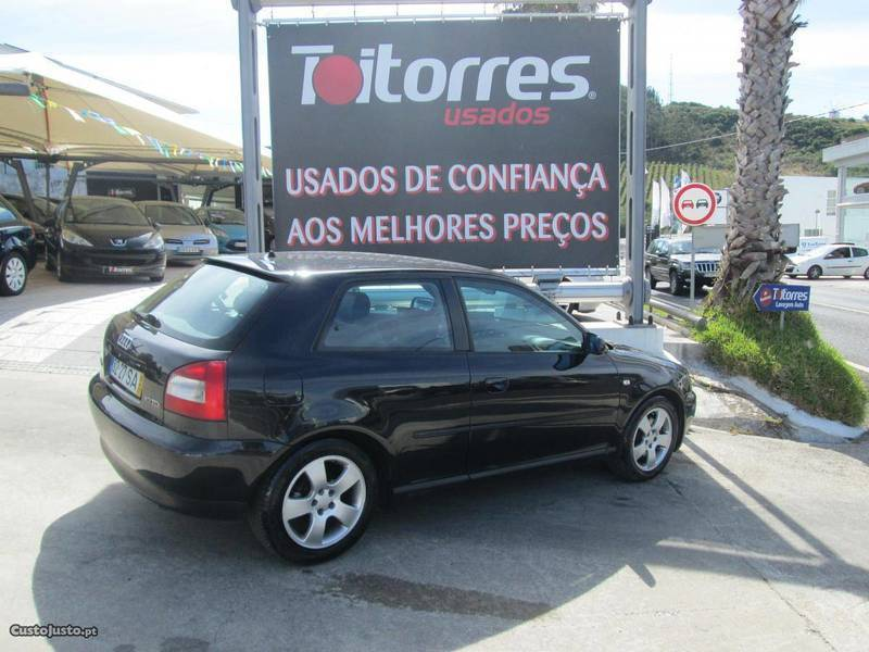 sold audi a3 1 9 tdi 130 cv 01 carros usados para venda. Black Bedroom Furniture Sets. Home Design Ideas