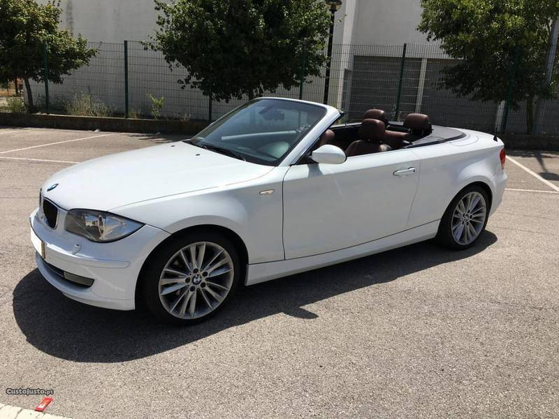 sold bmw 120 cabriolet d kit m 09 carros usados para venda. Black Bedroom Furniture Sets. Home Design Ideas