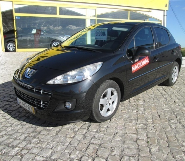 sold peugeot 207 1 4 hdi sportium carros usados para venda. Black Bedroom Furniture Sets. Home Design Ideas