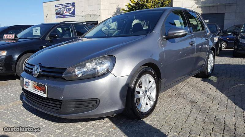 sold vw golf vi 2 0 tdi 110cv 09 carros usados para venda. Black Bedroom Furniture Sets. Home Design Ideas