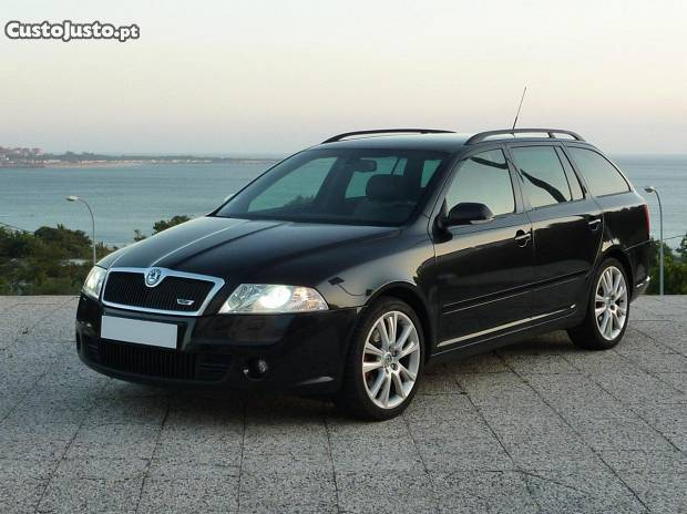 sold skoda octavia break 2 0 tdi rs carros usados para venda. Black Bedroom Furniture Sets. Home Design Ideas