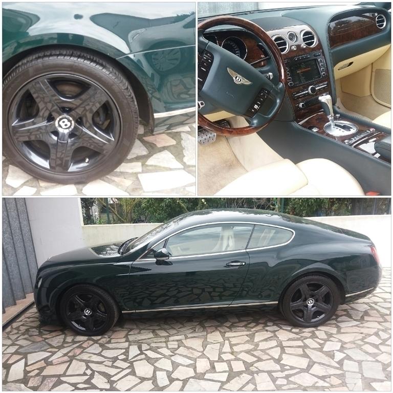 Sold Bentley Continental GT (560cv.