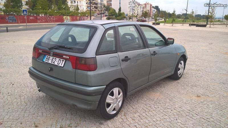 Sold Seat Ibiza 1 3 Efi 94 Carros Usados Para Venda
