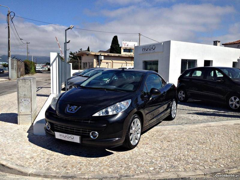 sold peugeot 207 cc 1 6 hdi sport carros usados para venda. Black Bedroom Furniture Sets. Home Design Ideas