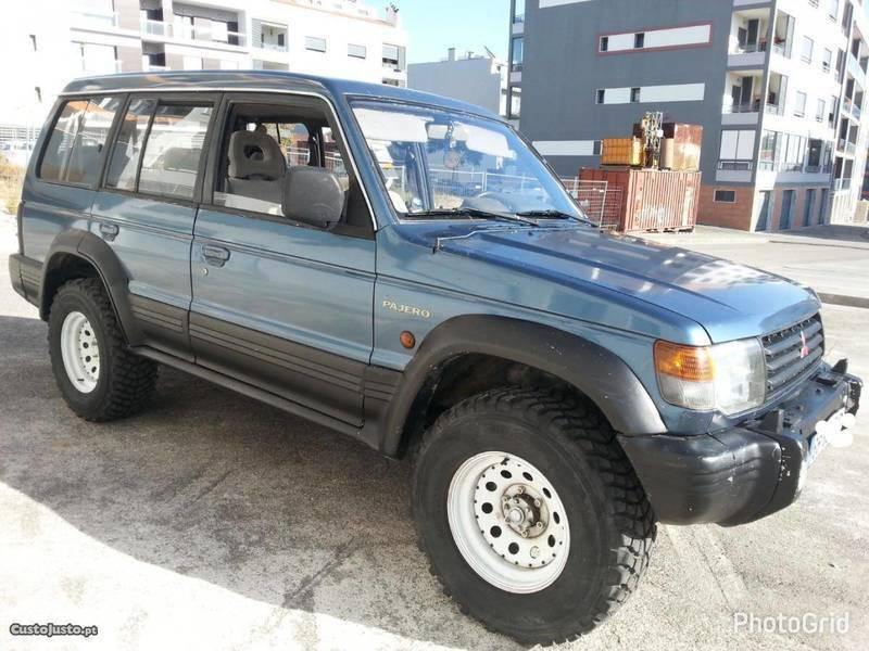 Sold Mitsubishi Pajero 2.5 td 7 lu. - Carros usados para venda