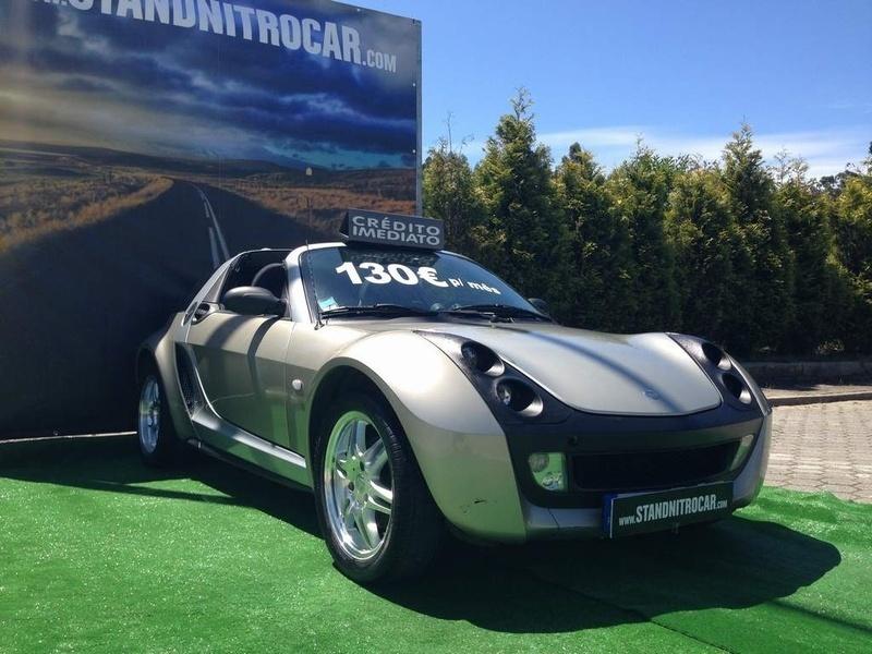 sold smart roadster cabrio caixa f carros usados para venda. Black Bedroom Furniture Sets. Home Design Ideas
