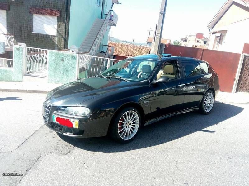 sold alfa romeo 156 1 9 jtd 140cv carros usados para venda. Black Bedroom Furniture Sets. Home Design Ideas