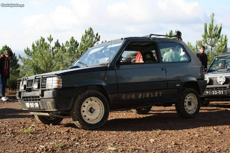 Sold fiat panda 4x4 4x4 sisley 88 carros usados para venda for Fiat panda 4x4 sisley usata